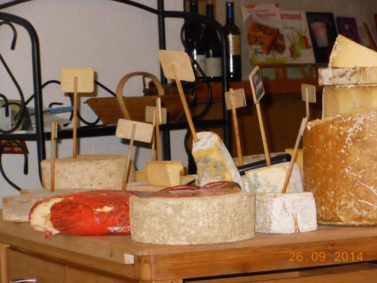 Hotel l'Ander: Plateau de fromage