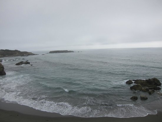 Gualala Point Regional Park: Ocean and beach view