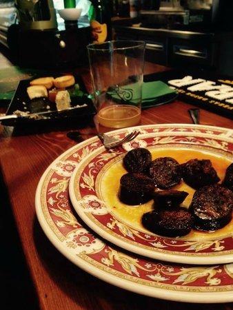 Portal Asturiano Restaurante: Morcilla Asturiana