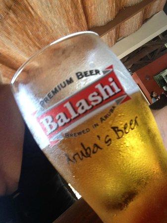 Talk of the Town Hotel & Beach Club : Local Beer BALASHI