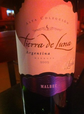 Apple Restaurant: Vin argentin