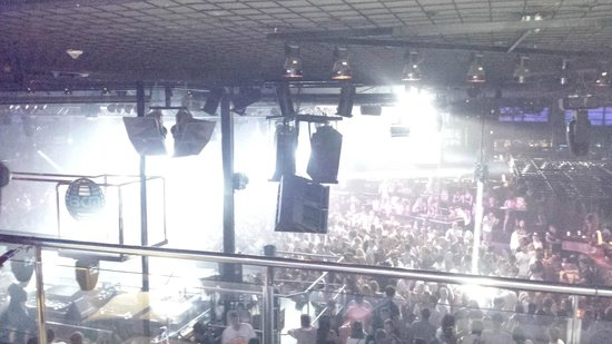 Bcm Planet Dance: View from VIP in BCM