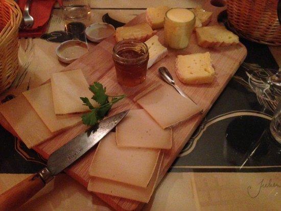 Bacaretto : Le plateau de Fromages pour 2