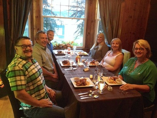 Baccalieu Trail Fine Dining Bed and Breakfast: Lovely evening had by all