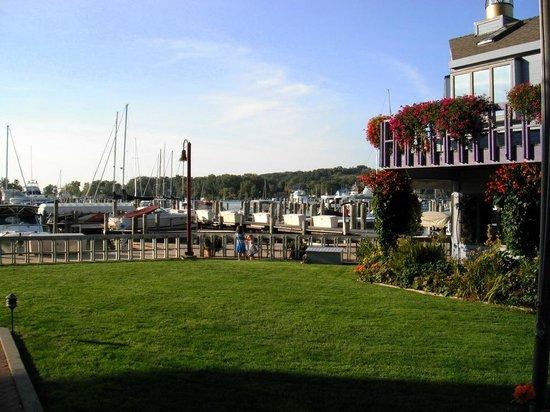 Piper Restaurant : the back yard