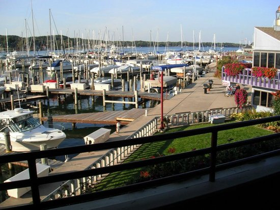 Piper Restaurant : View from the upper outdoor deck