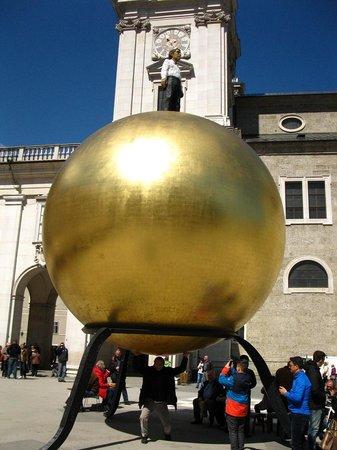 Kapitelplatz & Kapitelschwemme: Ball, Kapitelplatz and Kapitelschwemme, Salzburg, Austria