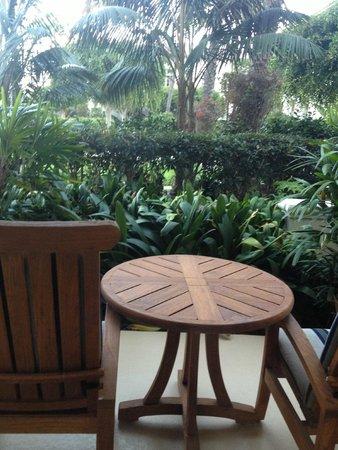 Park Hyatt Aviara Resort: Balcony View Reminds Me of Hawaii