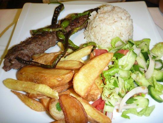 Panormos Hotel: Adana Kebab