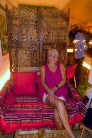 Oliveira Dourada: Relaxing after a wonderful meal.