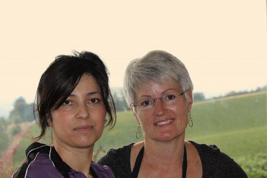 Wine Country Farm: Gracie and Sherri (host)