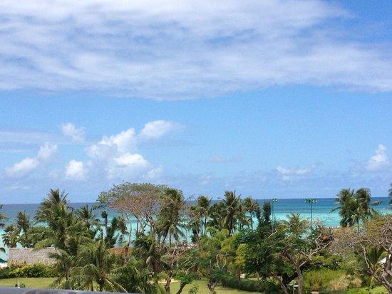 Hyatt Regency Saipan: View from room/balcony