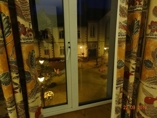 Temple Gate Hotel: vue de la chambre