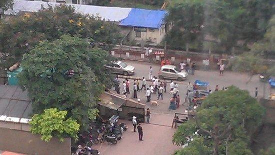 The Fern Residency, Mumbai: street celebrations outside the hotel area