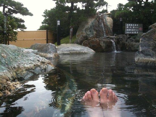 Oarai-machi, Япония: 潮騒の湯露天風呂