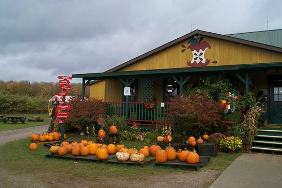 Rogers City, MI: The Knaebe Apple Barn