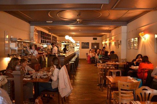Great Queen Street: Main restaurant