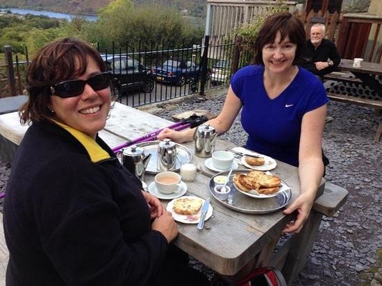 Penceunant Isaf Tea Rooms : A great cuppa in an amazing location