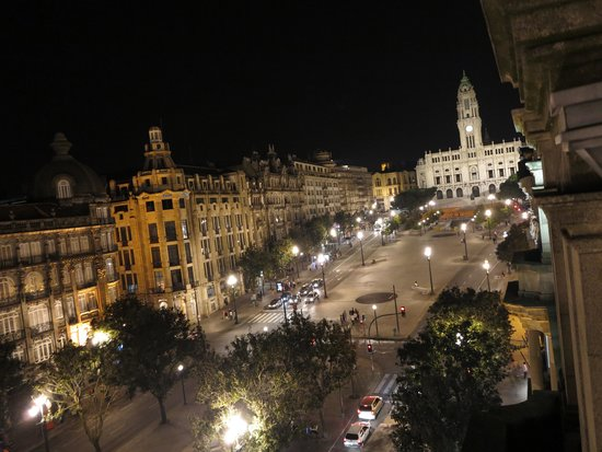 Hotel Universal : вид из окна