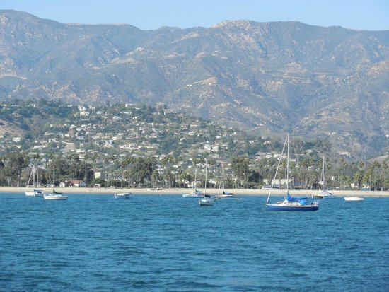 Celebration Cruises of Santa Barbara day trips: Beautiful View of Santa Barbara