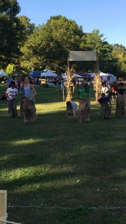 Old Bethpage Village Restoration: Potato Sack Race