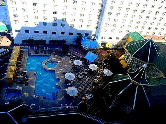 Tropicana Laughlin : 14th floor view of BLVD