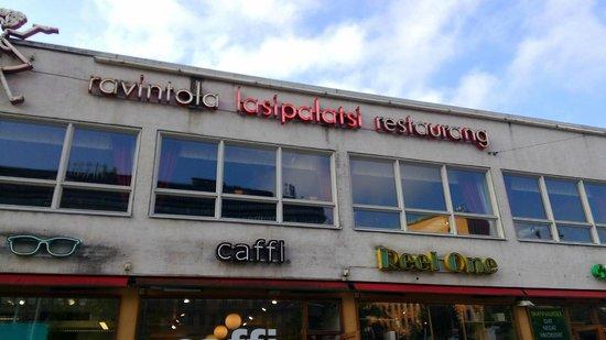 Ravintola Lasipalatsi: фасад
