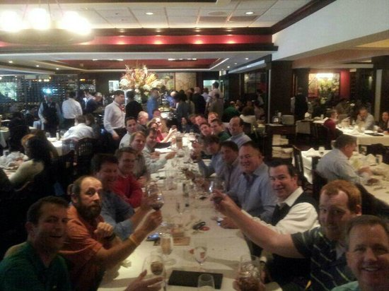 Fogo de Chao Brazilian Steakhouse : Holiday Lunch with the Guys!