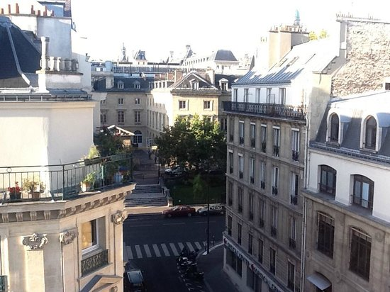 Hotel du College de France: View from our Balcony