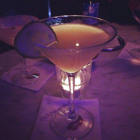 The Morgan Bar: Cucumber & wasabi martini