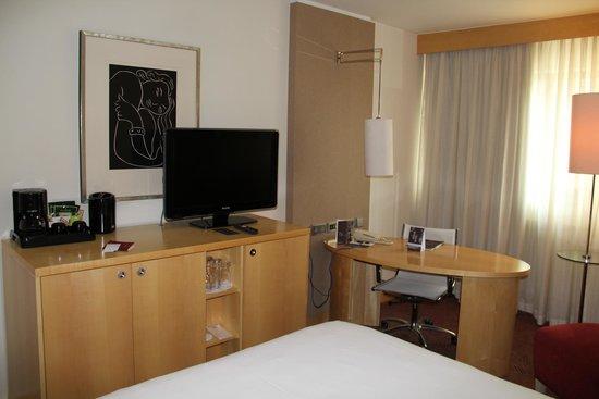 Sheraton Frankfurt Airport Hotel & Conference Center: Номер