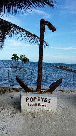 Popeyes Beach Resort: Calming View