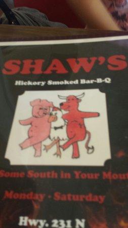 Ashville, AL: Shaw's