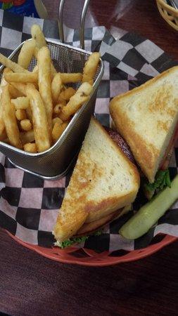 Firefly Cafe: Fried baloney sandwich