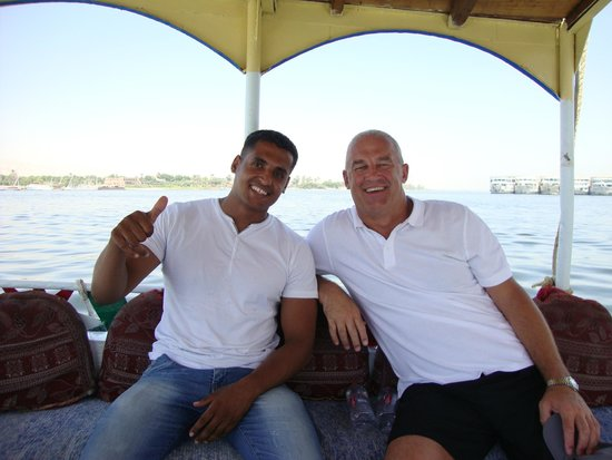 Luxor Taxi -  Day Tours : Private Motor Boat across the Nile