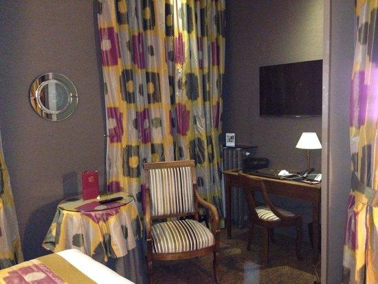 Hotel Regent's Garden: The room