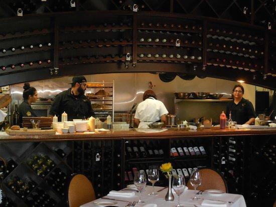 Tierra Sur: Open Kitchen