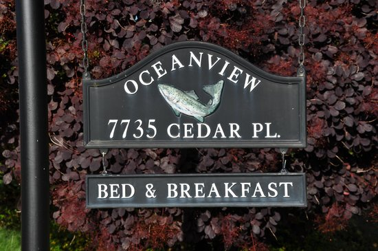 Oceanview Bed and Breakfast: B&B