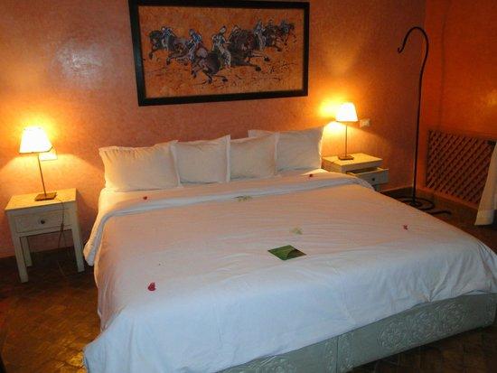 El Miria Palais Riad : chambre Bougainville