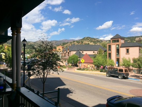 PJ's Bistro: View from the balcony tables
