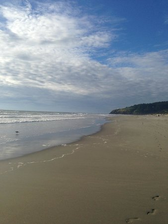 Cape Disappointment State Park: beach!