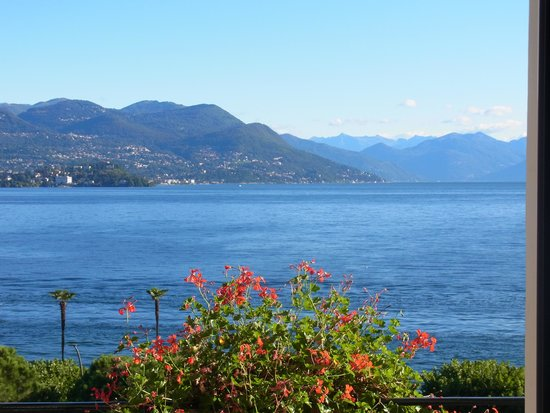 Milan Speranza Au Lac: The View From Our Room.