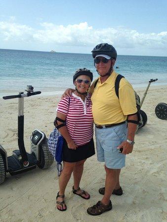 Segway Antigua Tours : J & B from Austin, TX - great beach ride