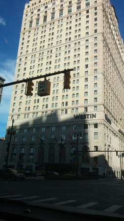 The Westin Book Cadillac Detroit: Outside the location