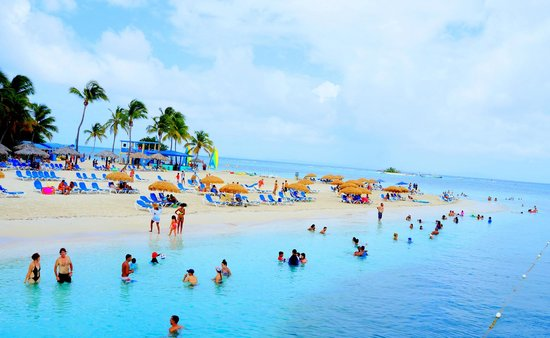 Las Croabas, Puerto Rico: Quite crowded but fun