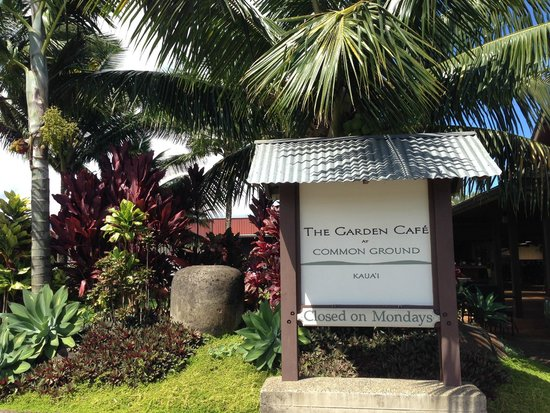 The Garden Cafe at Common Ground: Cafe
