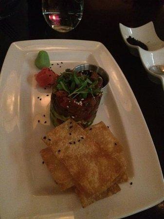 Pescara : the BEST tuna tartare ever!
