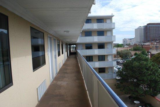 The Hotel Blue: esterno