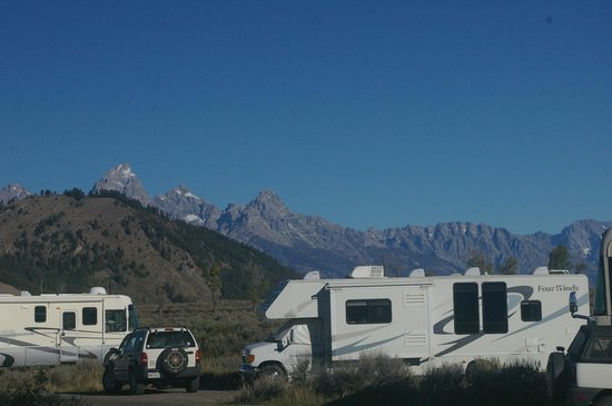 Gros Ventre Campground : View from Site #62