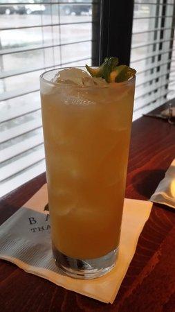 Basil Restaurant: Spiced Bourbon